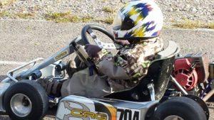 4½ vuotiaana ensimmäinen, eikä suinkaan viimeinen ajokokemus.