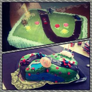 Ensimmäinen täytekakkuni, vauhdikkaalle yksivuotiaalle. Kolme vuotiaalle, toiveiden mukainen kakku. Joka hiukan saattoi karata käsistä.